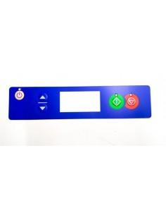 Carátula teclado Lavavajillas OZTI 196x45mm 6262.00018.08