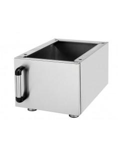 Mueble Cup Board Maquinaria de Cocina 40cm TC.6DL40
