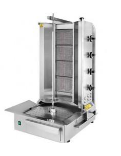 Máquina Doner Kebab 4 Quemadores TC.DNG201 Turhan