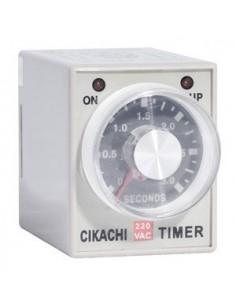 Relé de temporización Type AH3-3 8 polos 250VAC 5A 30 minutos