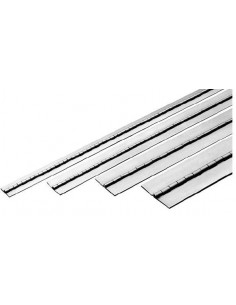 Bisagra de piano inox 38x1x1820mm