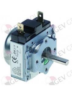 temporizador M11 con campana 1polos  tiempo 30 min DKJ/1-30 Eje 18x 6mm