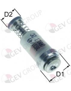 grupo magnético L 30 mm D1 ø 12,5 mm D2 ø 8,5 mm para SABAF Eutr