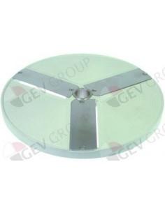 disco de corte tipo E2 HLC-300 ø 206mm soporte ø 19mm espesor de corte 2mm aluminio