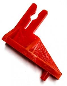 Soporte izquierdo Rebobinador rojo Balanza Epelsa Marte 57100430