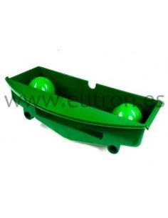 Bandeja portapinas verde Zummo  Z08 7/1-1V