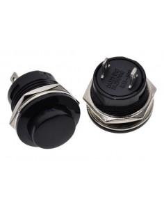 Pulsador R13-507 3A 250VAC 16mm 2 Terminales ECO1-1