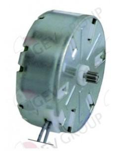 motor CDC piñón ø 4,9mm dientes 10 aliment. 230V tensión AC 50/60Hz sentido de rotación derecho