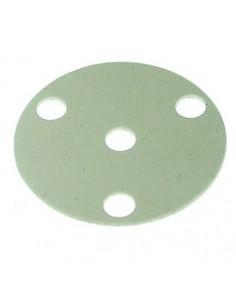 aislamiento ø 130mm espesor 3mm agujero ø 20mm para ventilador aire caliente