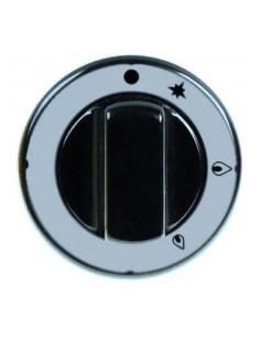 pomo grifo de gas con llama piloto PEL21 ø 70mm 112255
