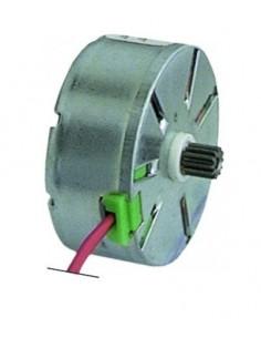 motor CDC piñón ø 5,4mm dientes 12 aliment. 230V sentido de rotación izquierdo ø motor 37mm M37LN