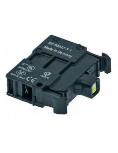 elemento de señalización amarillo empalme atornillado LED 85-264VAC Ozti 6232.00012.04
