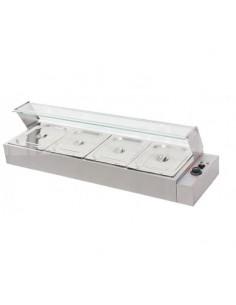Cristal Vitrina Baño María BM-4