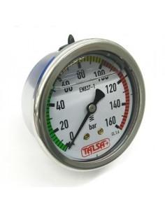 "Manómetro D.63 REF.MGS10/3/b 0-160 bar Rosca 1/4"" Talsa 2278"