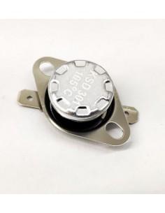 Termostato de contacto  KSD301 105ºC Liso Microondas P90D25AL-G3