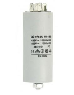 condensador de servicio capacidad 6 µF 450 V tolerancia 5 % 50 Hz 365093 365012