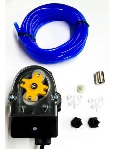 dosificador GIADOS regulación de frecuencia 0,4l/h 230VAC abrillantador tubo ø 4x6mm tubo silicona 9740.B04RE.00