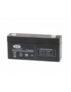 Batería Plomo Hermética LP6-3 6 V - 3.2 Amp 134 x 34 x 66 mm CAS DB-II