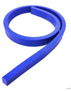 Almohadilla Gel Silicona Porosa Azul Envasadora Ramón 1 metro Perfil 12x27 58070