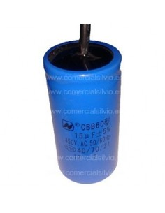 Condensador de arranque capacidad 75µF 250V CD60 50-60hz 70x35mm