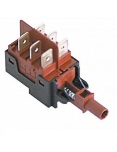 elemento de conmutación 2CO 250V 16A empalme conector Faston 6,3mm  345651 14010