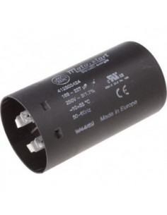 Condensador de arranque capacidad 189 - 227µF 220V 50-60hz con soporte