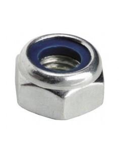 tuerca hexagonal rosca M6 H 6mm inox 20 piezas  DIN/ISO DIN 985...