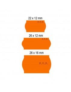 Etiquetas Flúor PVP (Caja de 40 rollos)