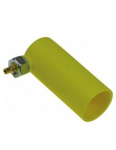 cámara de aire ø 39mm H 90mm rosca M8 tubo ø 6mm plástico Project...