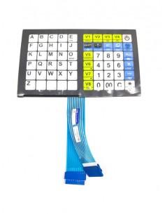 Teclado balanza CAS CT-100 60 teclas  nueva versión plana SP-CT-KB...