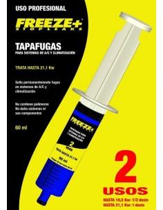 Jeringa Tapafugas Feeze+ hasta 21,1Kw 60ml Stop Leak HVAC