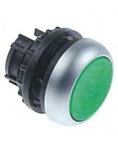 Tecla verde con luz con enclavamiento Ozti M22 DRL-G 6232.00012.09...
