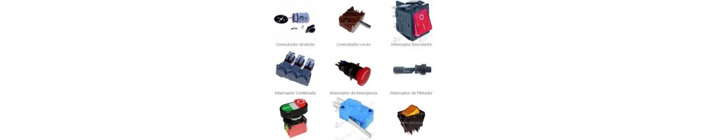 Interruptores Pulsadores Conmuta